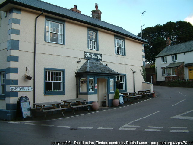 The Lion Inn , Timberscombe