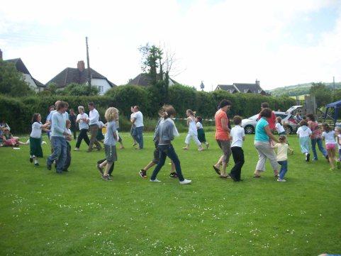 Timberscombe School Children
