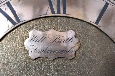 Picture of clock plaque