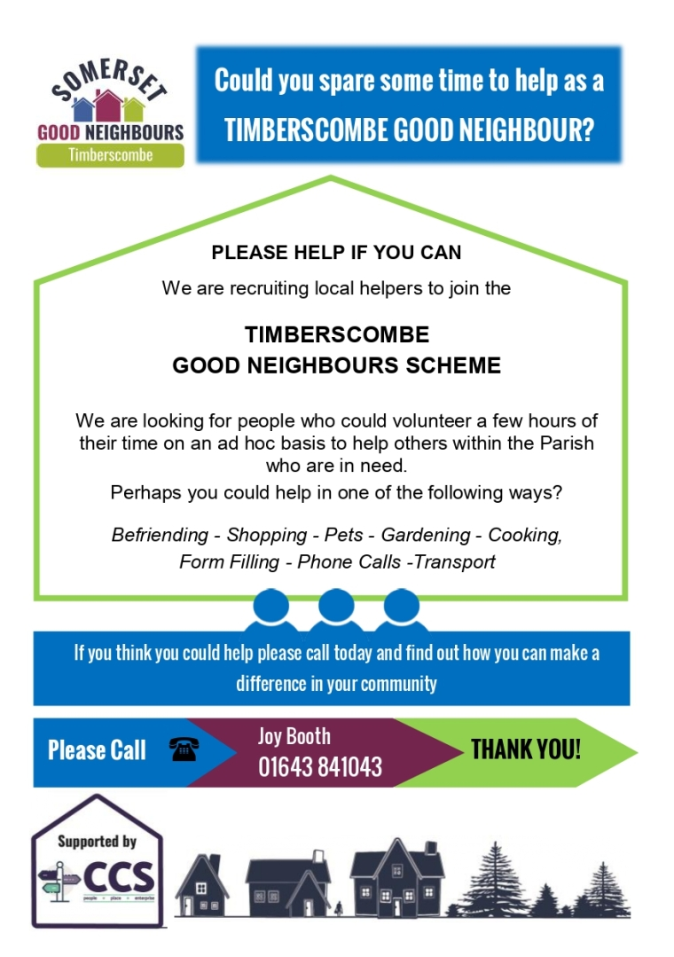 good neighbours flier