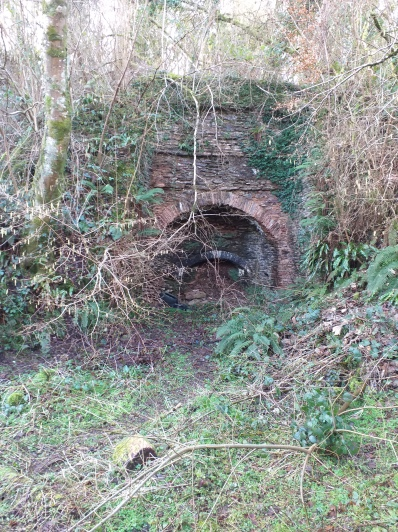 lime kiln at Allercott Farm
