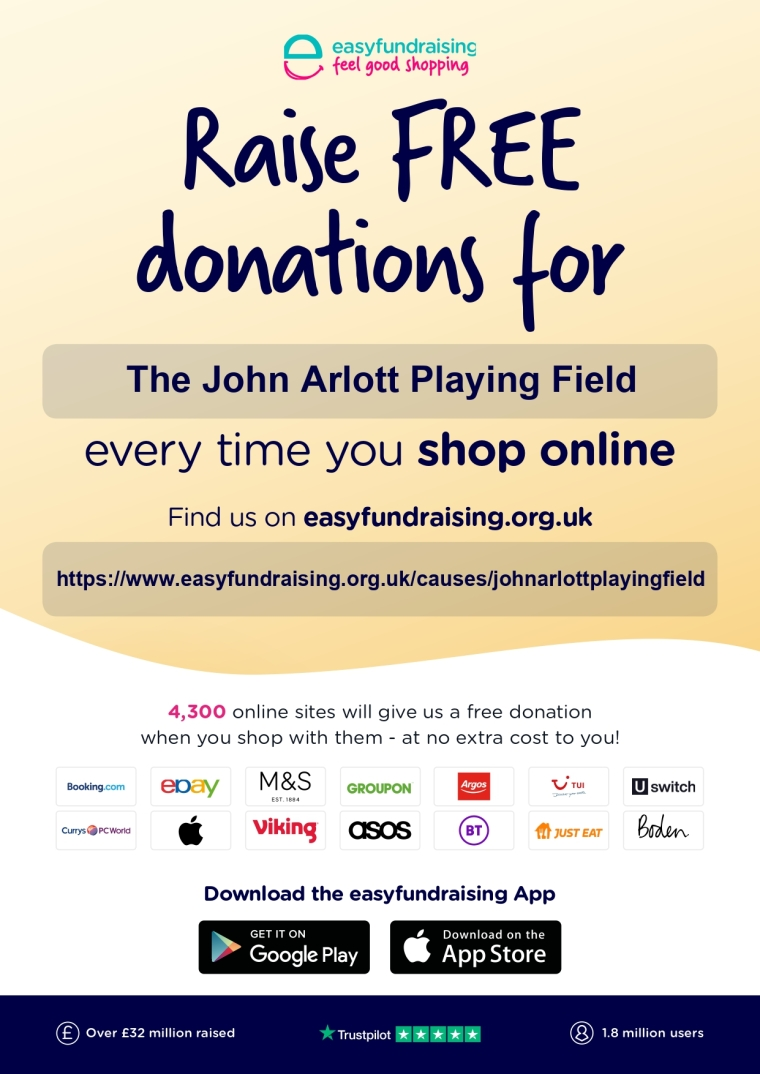 Easyfundraising John Arlott JPEG poster