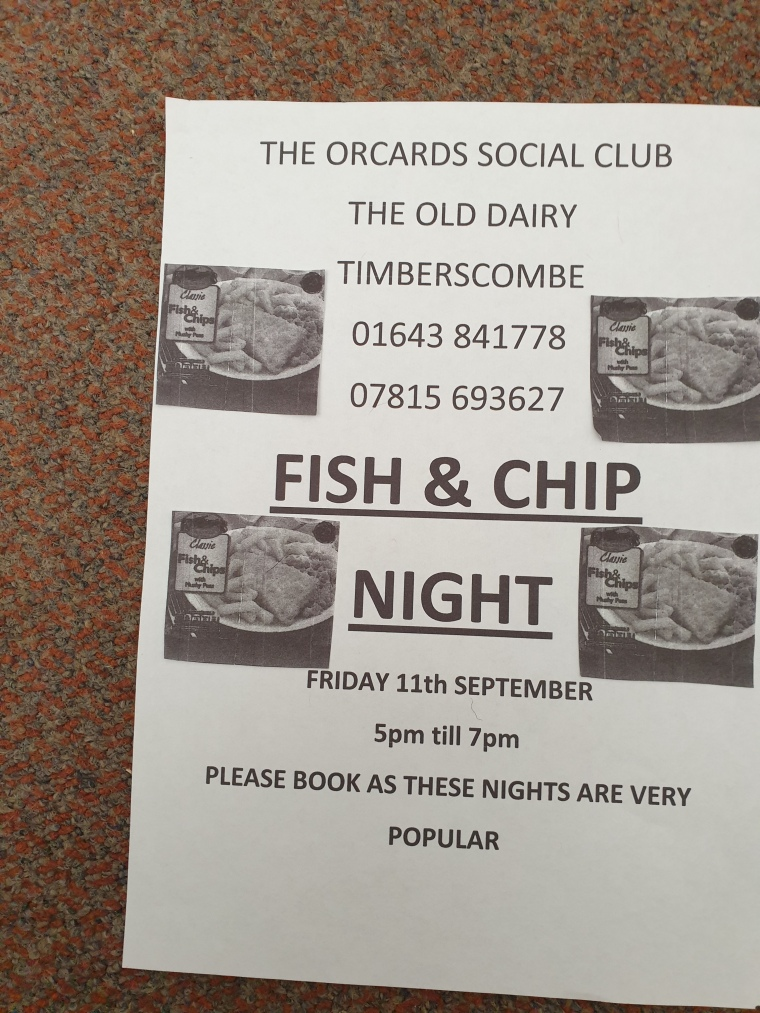 Fish and Chip Night