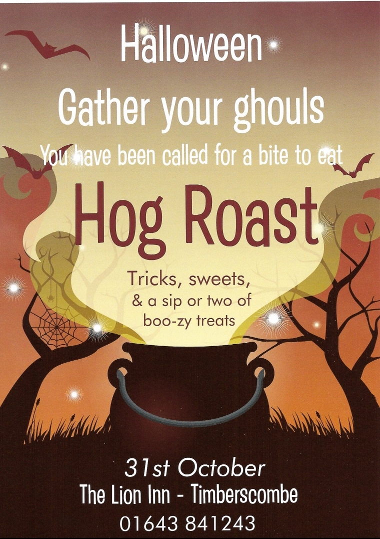Hog Roast Poster