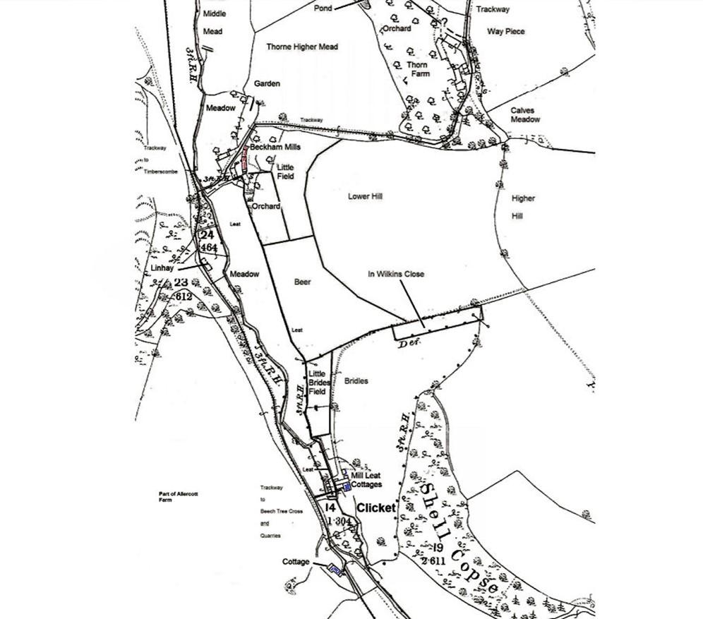 1844 Tithe Map (6 )