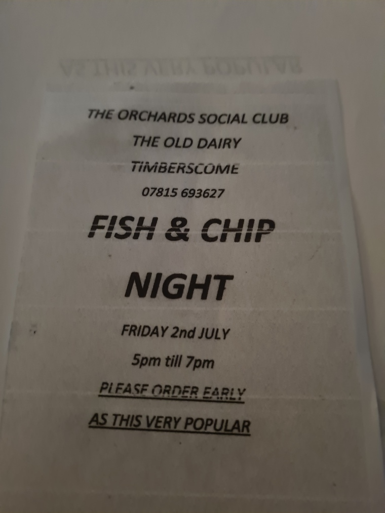 Fish and Chips 2nd July