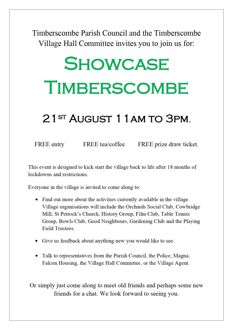 Showcase Timberscombe 2021 poster_page-0001
